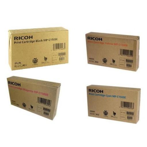 Ricoh Toner Cartridge Value Pack, MP C1500 - Genuine