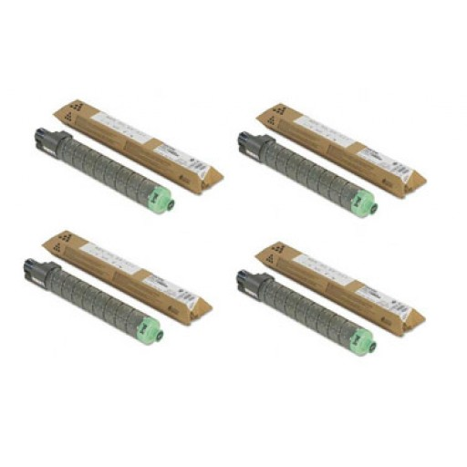 Ricoh Toner Cartridge Value Pack, SP C220, SP C221- Genuine