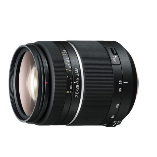 Sony 28-75mm F2.8 Sam Standard Zoom Lens
