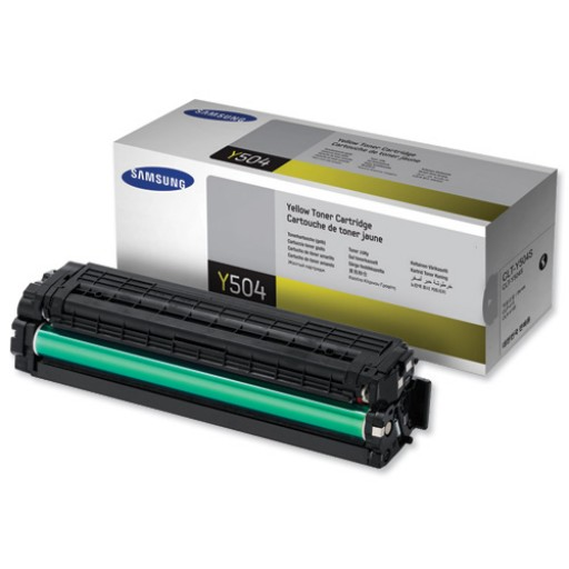 Samsung CLT-Y504S/ELS , 415/4195 Toner Cartridge - Yellow