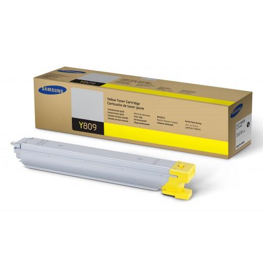 Samsung CLT-Y809S/ELS, CLX-9201NA/9251NA/9301NA Toner Cartridge - Yellow