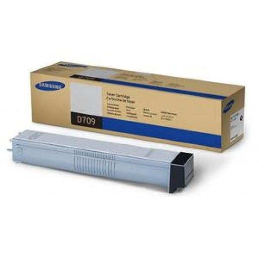 Samsung MLT-D709S Toner Cartridge, SCX 8123, 8128 - Black Genuine