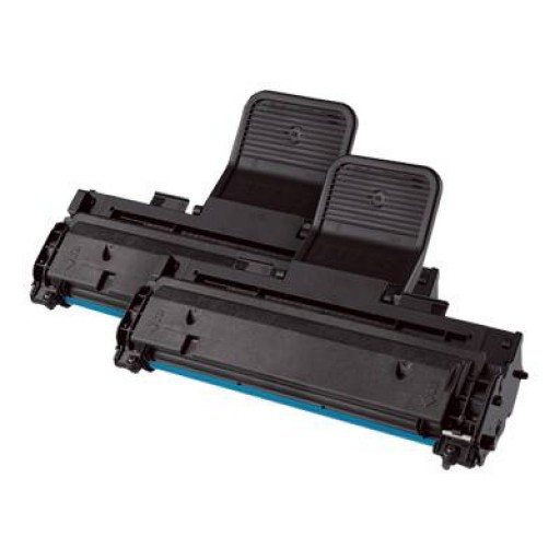 Samsung MLT-P1082A Toner Cartridge, ML-1640, ML-2240, ML-2241 - Twin Pack Black Genuine