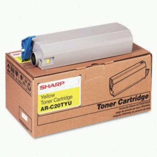 Sharp AR-C20TYU, Toner Cartridge Yellow, AR C200, C240- Original