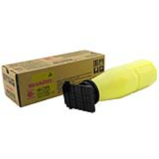 Sharp AR-C25T8 Toner Cartridge, AR C150, C160, C250, C270, C330 - Yellow Genuine
