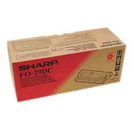 Sharp FO-29DC Toner Cartridge, FO 2950M, 2970M, 3150 - Black Genuine
