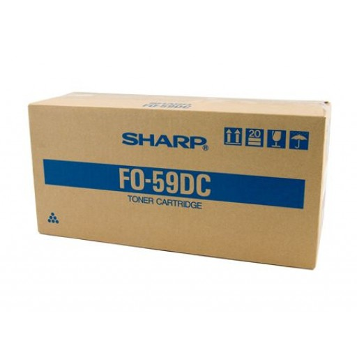 Sharp FO59DC Toner Cartridge, FO DC500, 5900 - Black Genuine