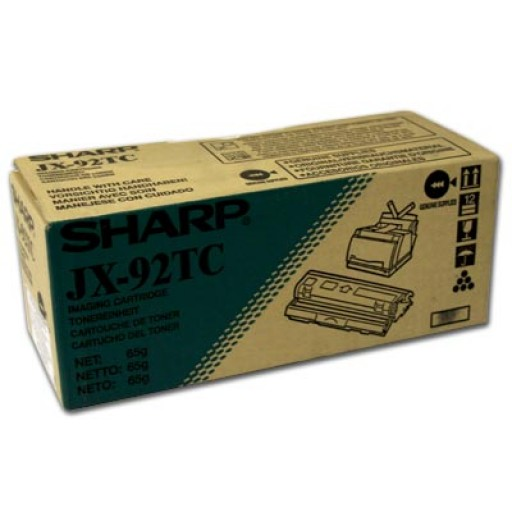 Sharp JX-92TC Toner Cartridge, JX 9200, 9210, 9230 - Black Genuine