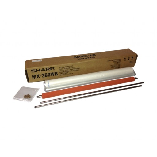 Sharp MX-360WB Web Cleaning Kit, MX 2614, MX 2615, MX 3114, Mx 3115, MX 3610 - Genuine