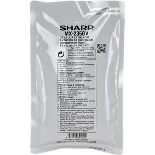 Sharp MX235GV, Developer Black, AR 5618, 5620, MX M182, M202- Original