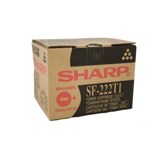 Sharp SF-222T1 Toner Cartridge, SF 2022, 2027 - Black Genuine