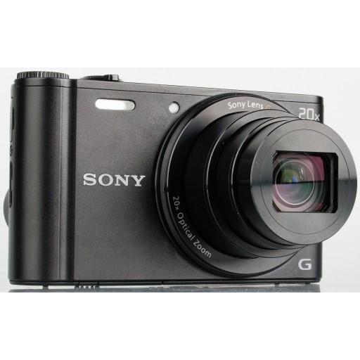 Sony DSC-WX300 Digital Compact Camera in Black