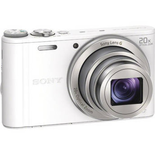 Sony DSC-WX300 Digital Compact Camera - In White
