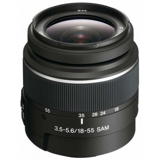 Sony DT 18-55mm f/3.5-5.6 Standard Zoom Lens