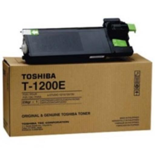 Toshiba T-1200E Toner Cartridge - Black Genuine