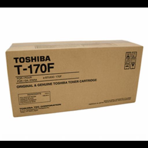 Toshiba T-170F Toner Cartridge - Black Genuine