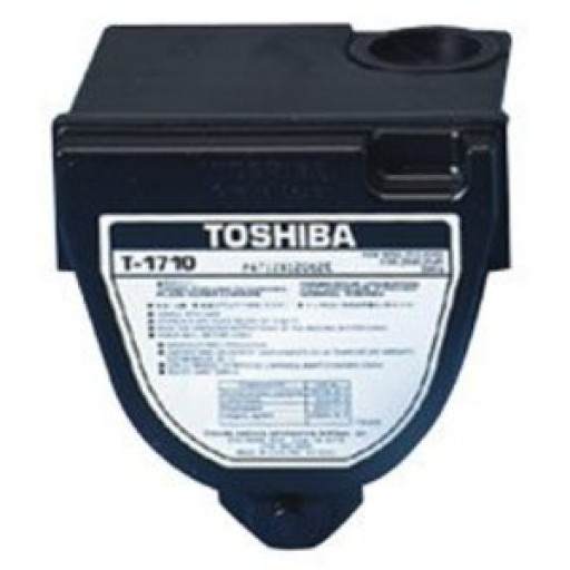 Toshiba T-1710E Toner Cartridge - Black Genuine