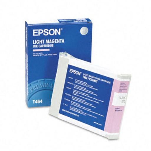Epson T464 Ink Cartridge - Light Magenta Genuine