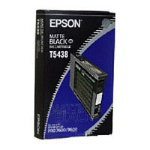 Epson T5438 Ink Cartridge - Matte Black Genuine