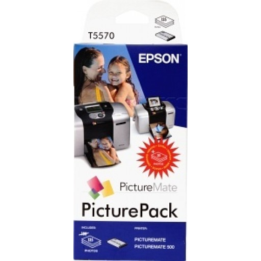 Epson T5570 Ink Cartridge - Photo Pack Genuine