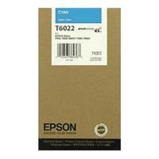 Epson T6022 Ink Cartridge - Cyan Genuine