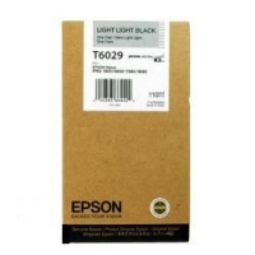 Epson T6029 Ink Cartridge - Light Light Black Genuine