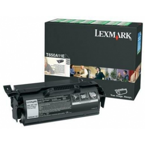 Lexmark T650A11E, T650/652/654 Return Program Print Cartridge - Black