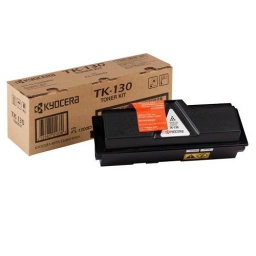 Kyocera TK130, Toner Cartridge- Black, FS1028, FS1128, FS1300, FS1350- Genuine