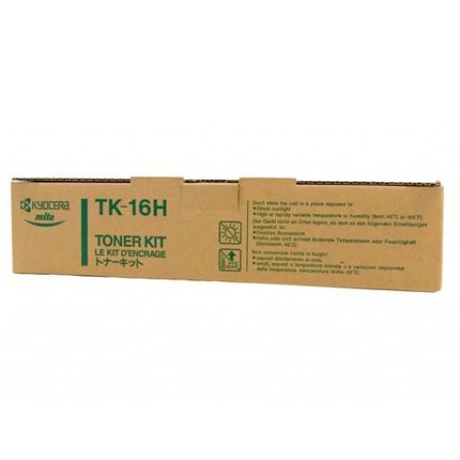 Kyocera Mita TK-16H, Toner Cartridge- Black, FS 600, 680, 800- Genuine