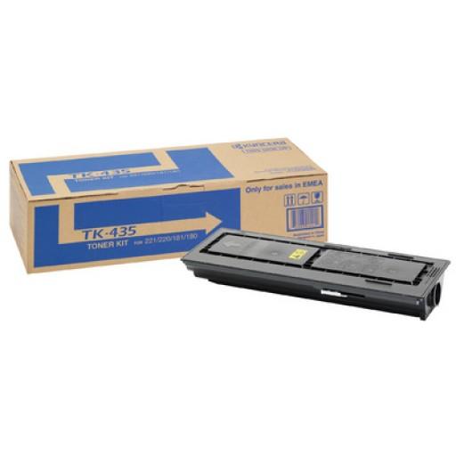 Kyocera TK435, Toner Cartridge- Black, TASKalfa 180, 181, 220, 221- Genuine