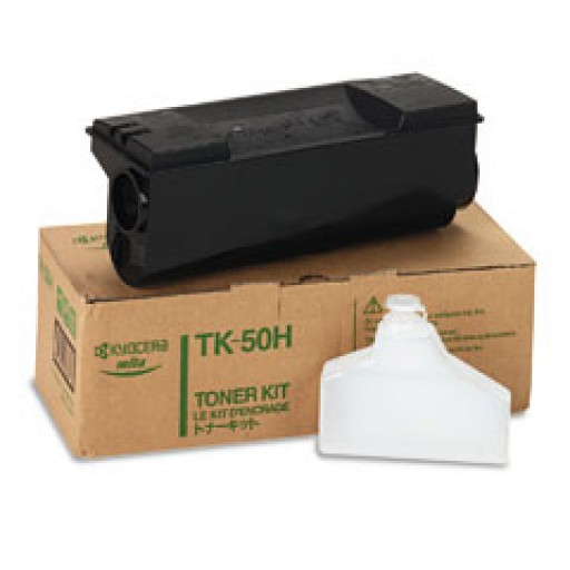 Kyocera TK50H, Toner Cartridge- Black, FS1900- Genuine