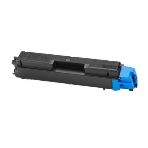 Kyocera TK590C, Toner Cartridge- Cyan, FSC2526, FSC2626, FSC5250- Genuine