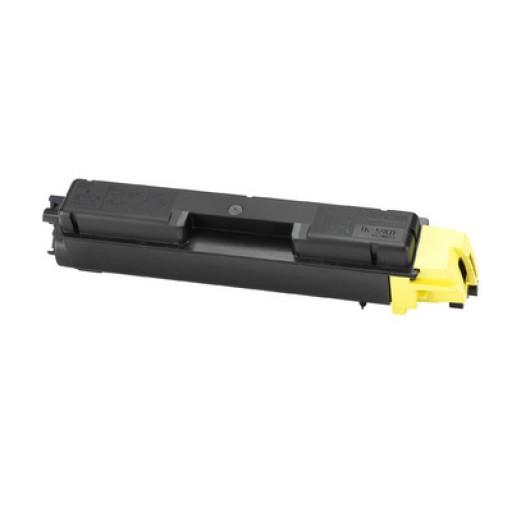 Kyocera TK590Y, Toner Cartridge- Yellow, FSC2526, FSC2626, FSC5250- Genuine