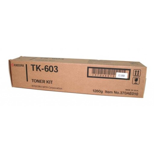 Kyocera Mita TK-603 Toner Cartridge - Black Genuine