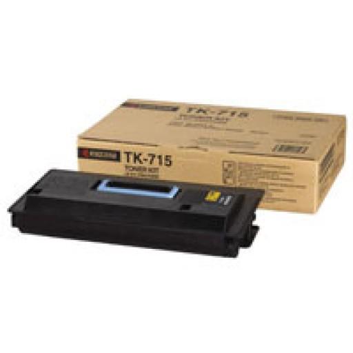 Kyocera TK715, Toner Cartridge- Black, KM3050, KM4050, KM5050- Original