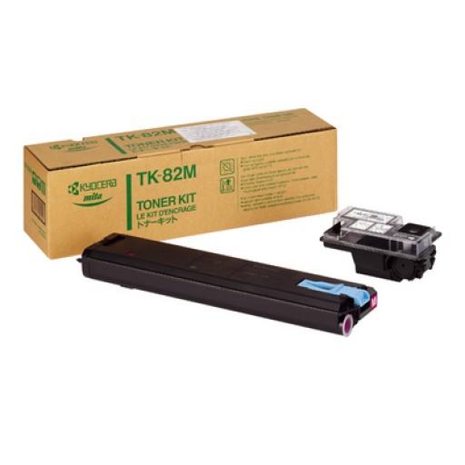 Kyocera Mita TK-82M, Toner Cartridge Magenta, FS 8000- Original