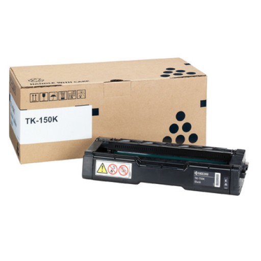 Kyocera Mita TK-150K, Toner Cartridge- Black, FS-C1020- Genuine