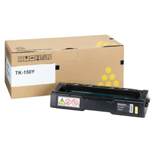 Kyocera Mita TK-150Y, Toner Cartridge- Yellow, FS-C1020- Genuine