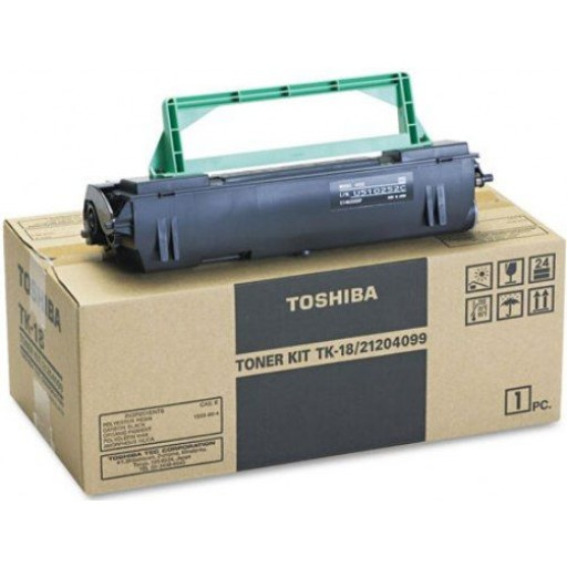 Toshiba TK-18, Toner Cartridge Black, DP80F, DP85F- Genuine