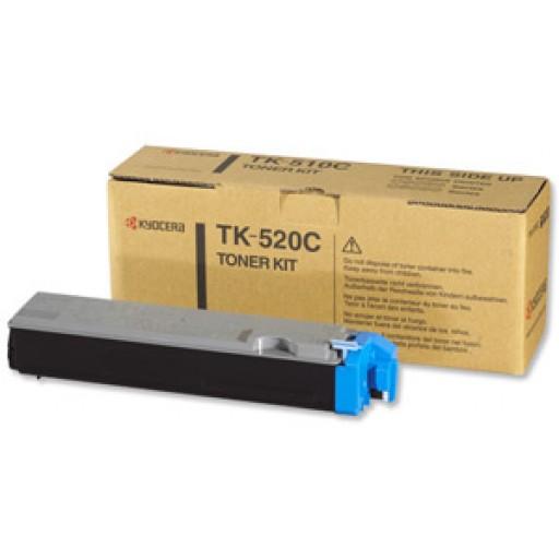 Kyocera Mita TK-520C Toner Cartridge- Cyan, FS-C5015N- Genuine