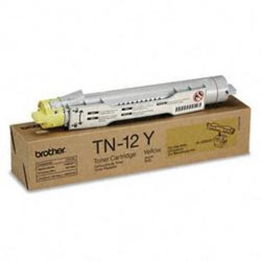 Brother TN-12Y, Toner Cartridge Yellow, HL4200- Original
