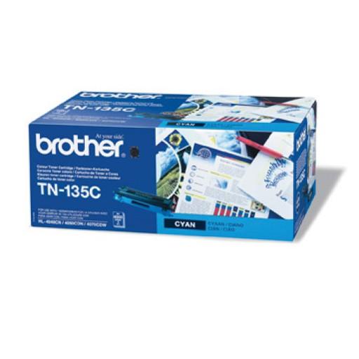 Brother TN135C, Toner Cartridge- HC Cyan, DCP9040, 9042, HL4040, 4050, MFC9440, 9450- Genuine