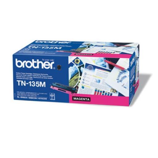 Brother TN135M, Toner Cartridge- HC Magenta, DCP9040, 9042, HL4040, 4050, MFC9440, 9450- Genuine