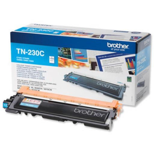 Brother TN230C, Toner Cartridge- Cyan, DCP9010, HL3040, HL3070, MFC9120, MFC9320- Genuine