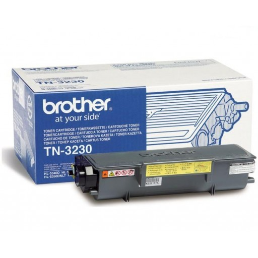 Brother TN-3230, Toner Cartridge Black, DCP-8070D, 8085, HL5340, 5350- Original