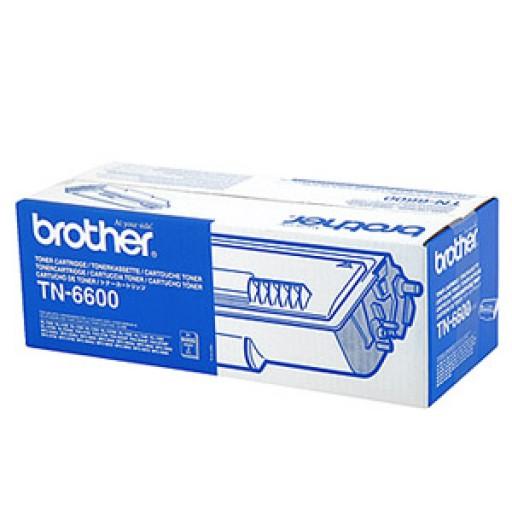 Brother TN6600, TN-6600 Black toner cartridge, HC Black Genuine