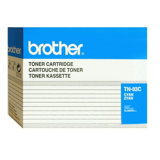 Brother TN-03C, Toner Cartridge- Cyan, HL-2600- Original