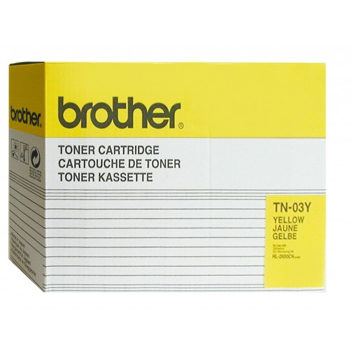 Brother TN-03Y, Toner Cartridge- Yellow, HL-2600- Original
