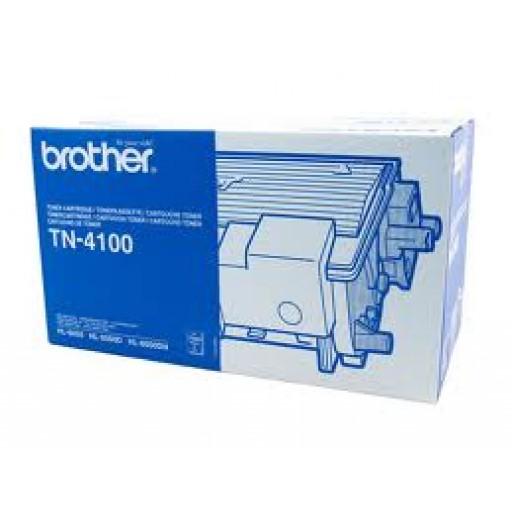 Brother TN4100, Toner Cartridge- Black, HL6050- Genuine