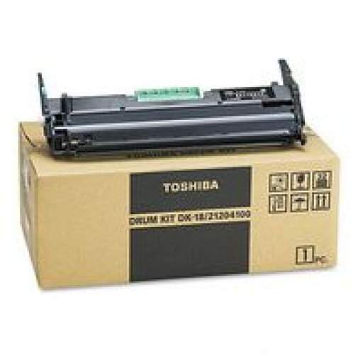 Toshiba 21204100, DK-18 Drum Unit, DP80F, DP85F - Black Genuine